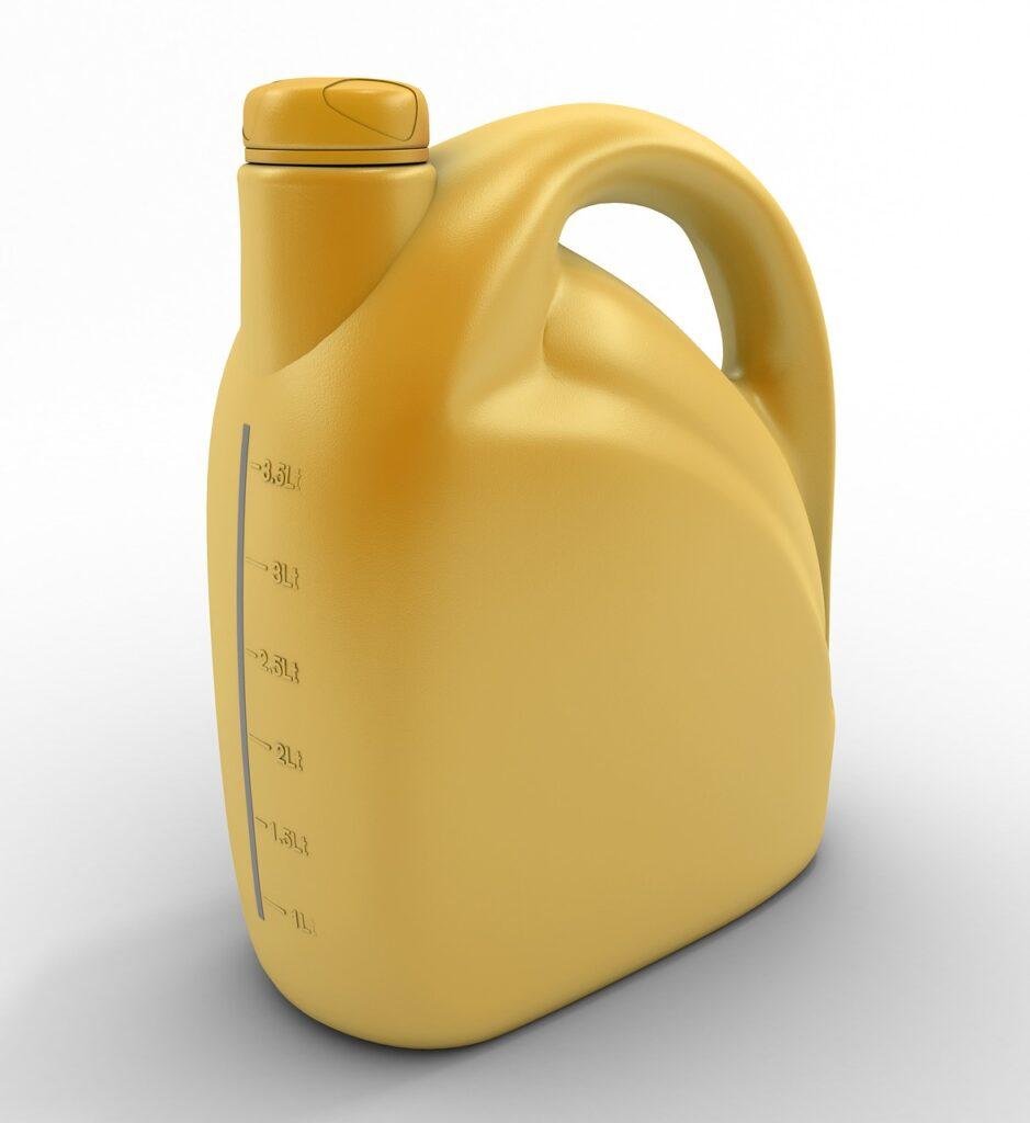 fűnyíró olaj